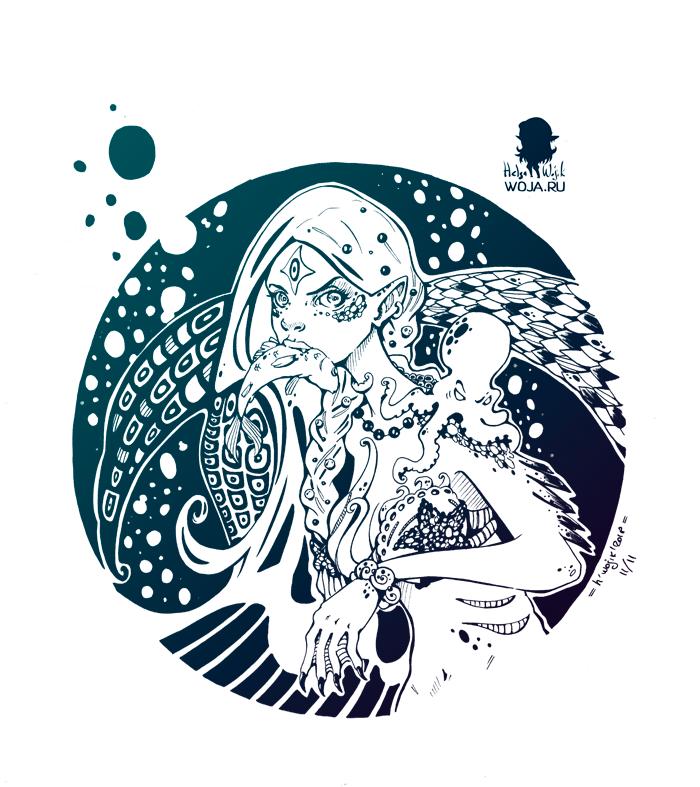 Circle: Mermaid by WojikHell