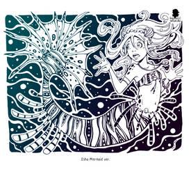 Esha Mermaid ver. by WojikHell