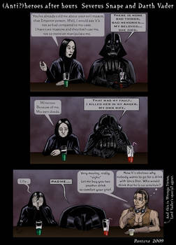 Snape and Vader .comic