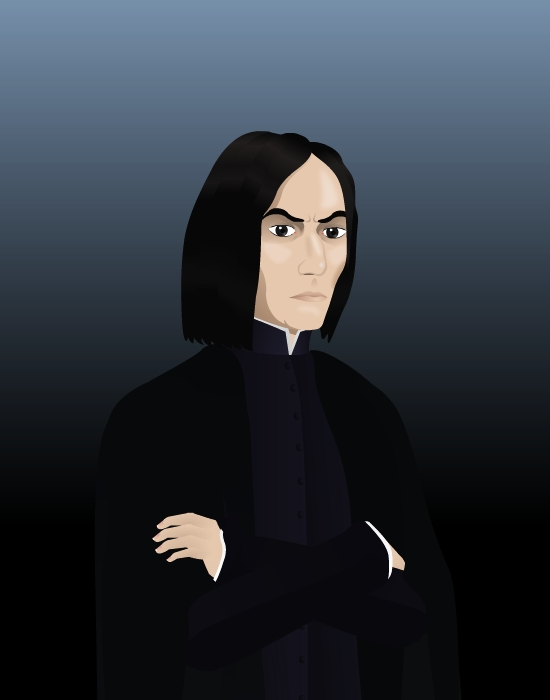 Snape again by The-Black-Panther