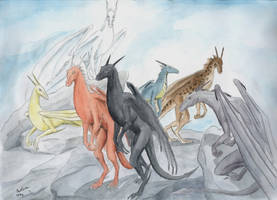 Seven Dragons by The-Black-Panther
