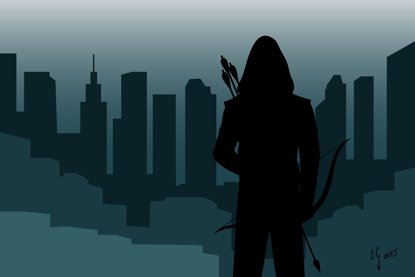 Arrow Silhouette by The-Black-Panther
