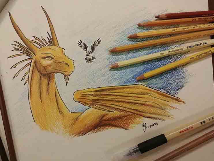 Smaugust, day 3: Golden by The-Black-Panther