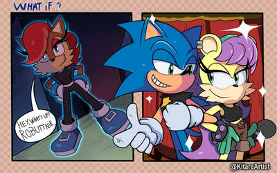 What If Sally got Super Speed Instead of Sonic?