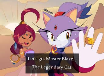 Sonic Swaps AU: Blaze and the Secret Rings