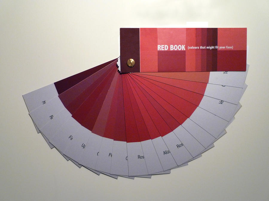 Red Book by Grafietstift