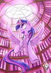 Twilight's Library by Sea-Maas