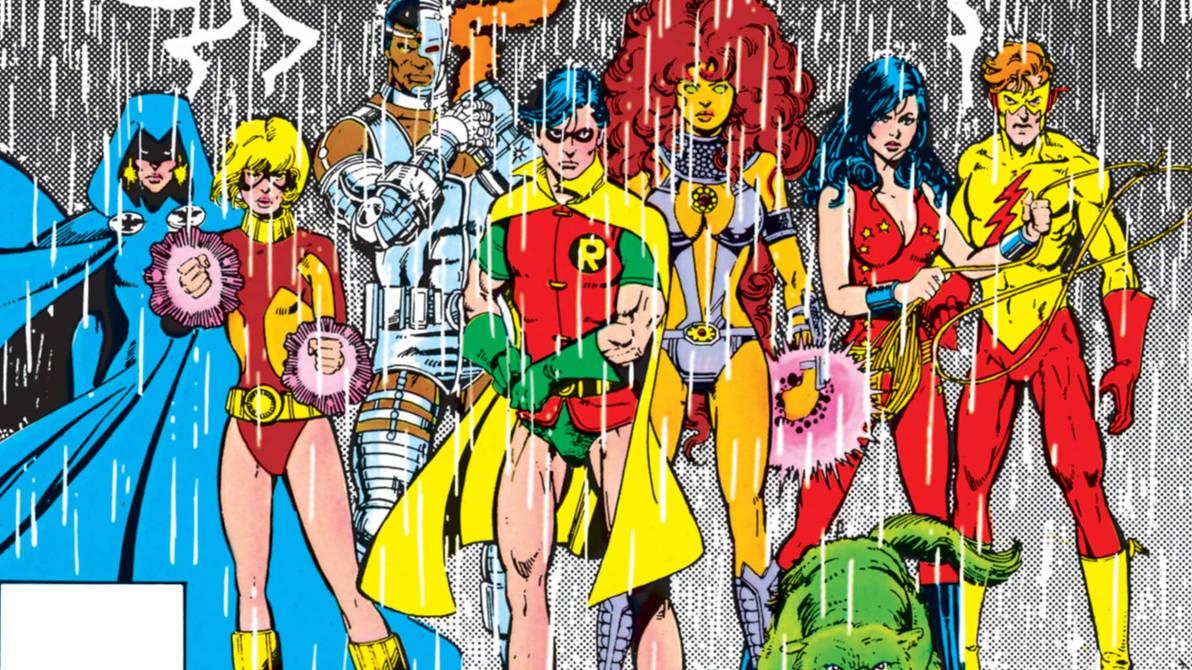 Classic Teen Titans Wallpaper by JMarvelhero ...