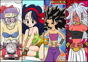 Dragon Ball Women - Bellies - VGG by JMarvelhero