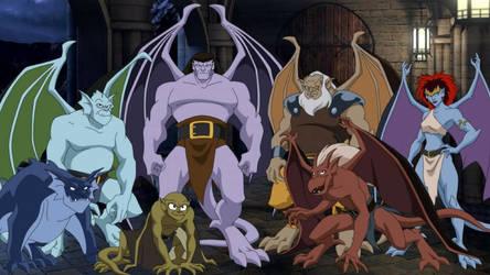 Gargoyles - Wallpaper (Disney Animated)