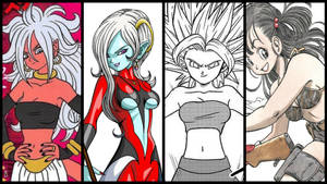 Dragon Ball Bellies - VGG Series (NEW) by JMarvelhero