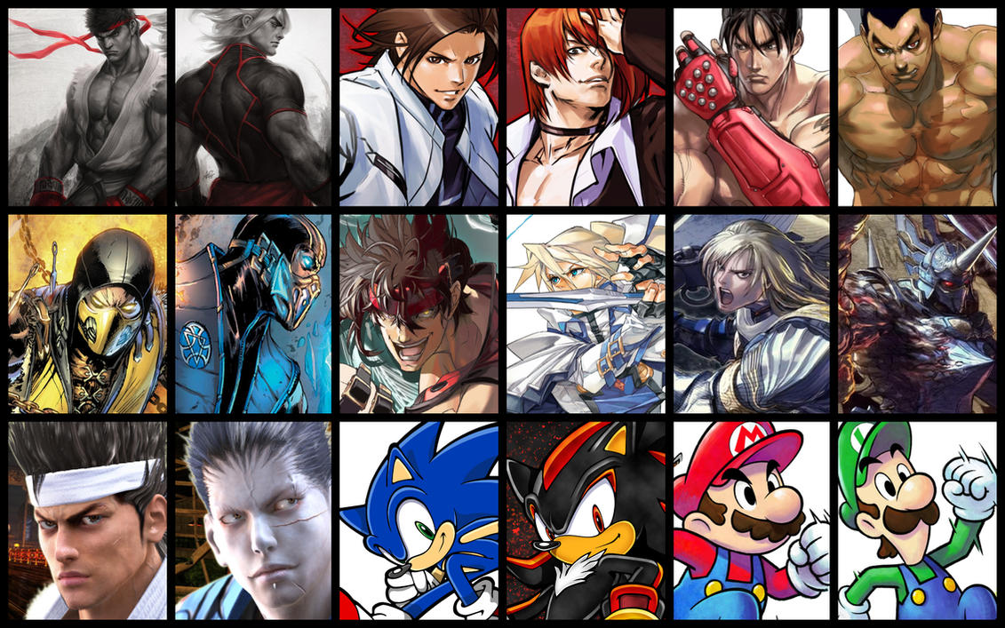 Fighting Main Heroes Rivals VS by JMarvelhero
