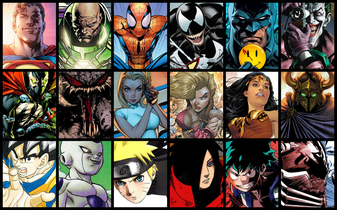 Heroes Arch Rivals Comic Theme by JMarvelhero