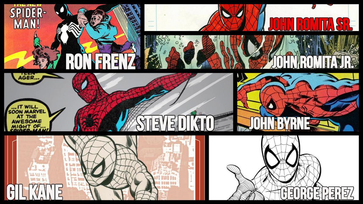 Artists Appreciation Redux - Spiderman Classic by JMarvelhero