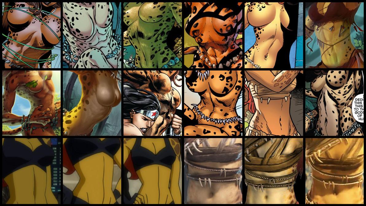 VGG Request - Cheetah from DC Comics by JMarvelhero