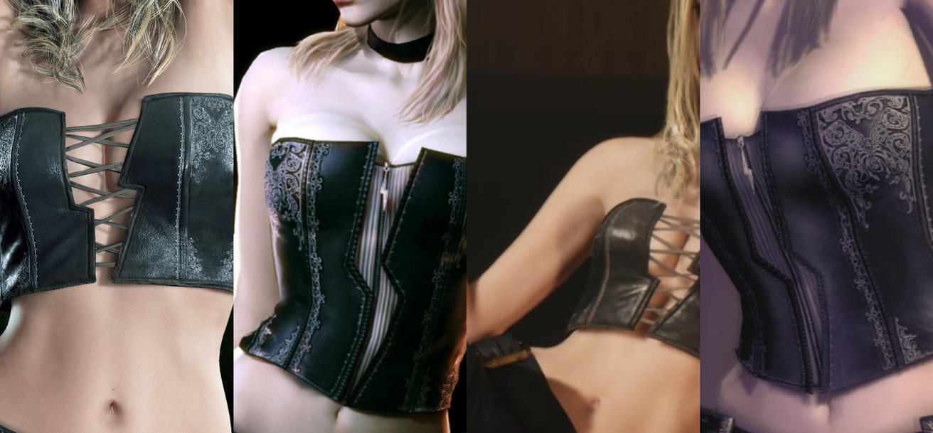 Devil May Cry 4 and 5 - Trish New Belly by JMarvelhero
