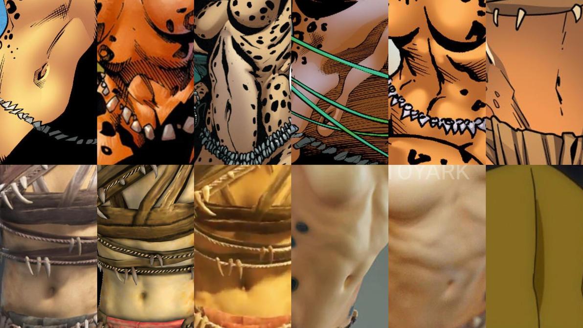 Request 2nd - Cheetah deph navel look by JMarvelhero