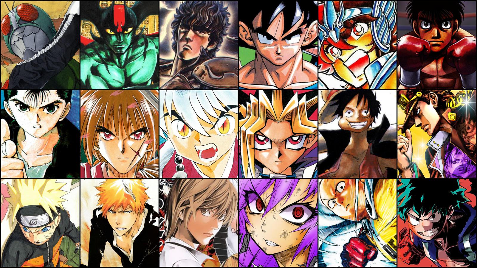 All Shonen Jump Anime Wallpaper Anime Wallpapers