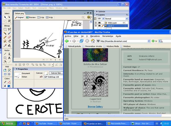 Desktop screenshot by 4Cuerdas