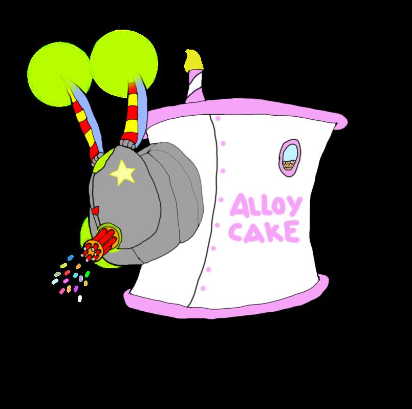 The Alloy Cake (Happy Birthday AlloyRabbit) by DjimmiGreat