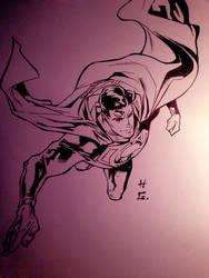Man of Steel  by jorge Jimenez by hudaim