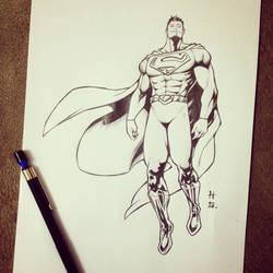 The Man of Steel by hudaim