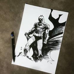 BATMAN (JIM LEE) by hudaim