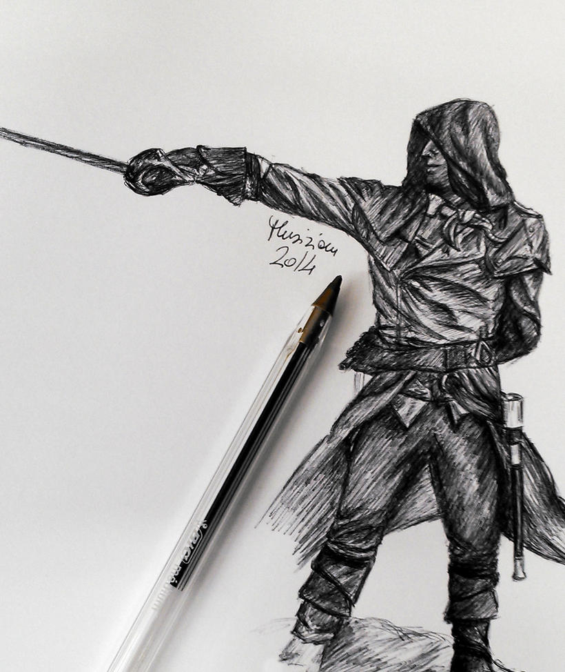 Drawing D Lines In Unity : Arno assassin s creed unity by musiriam on deviantart