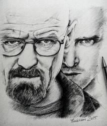 Breaking Bad: Heisenberg and Pinkman