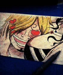 Sanji's Paradise - Ink Doodle