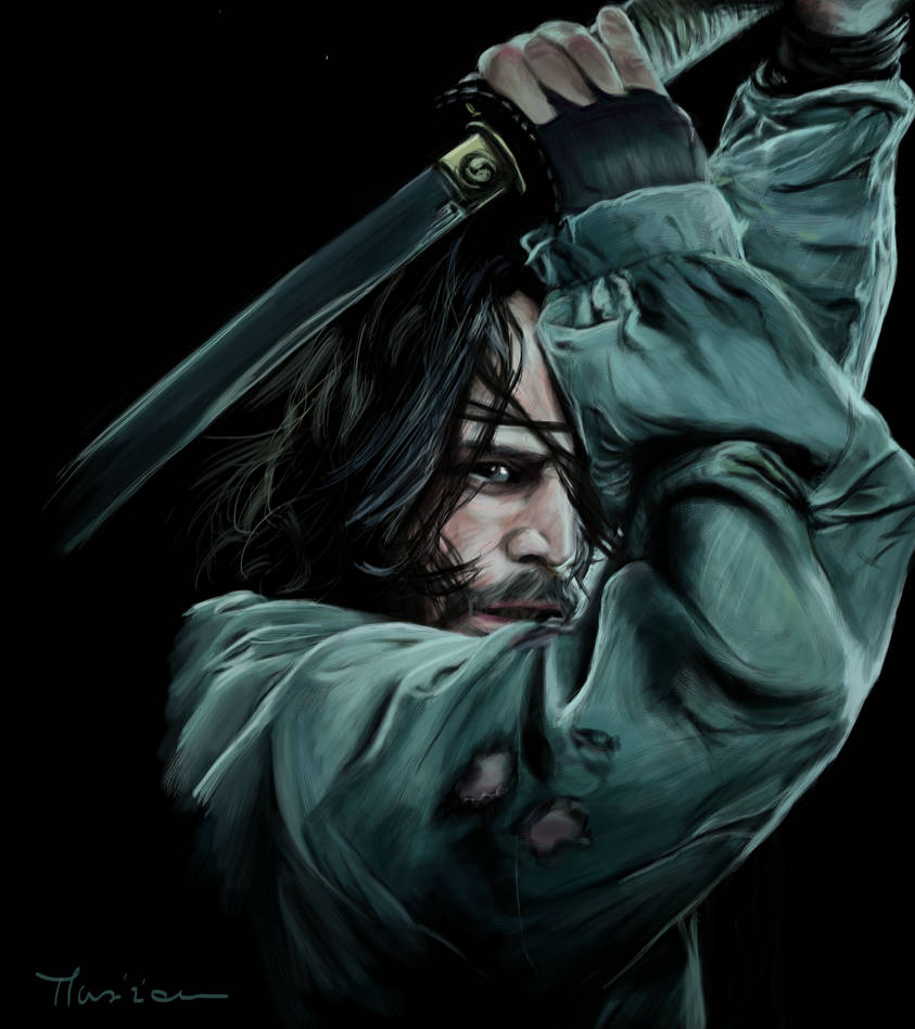 Keanu Reeves from the movie '47 Ronin' by Musiriam on DeviantArt