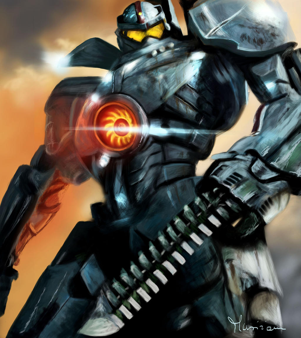 Gipsy Danger, Jaeger - Pacific Rim by Musiriam on DeviantArt Pacific Rim Jaeger Gypsy Danger Wallpaper