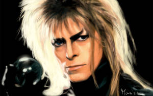 In memory of David Bowie (Jareth from Labyrinth)