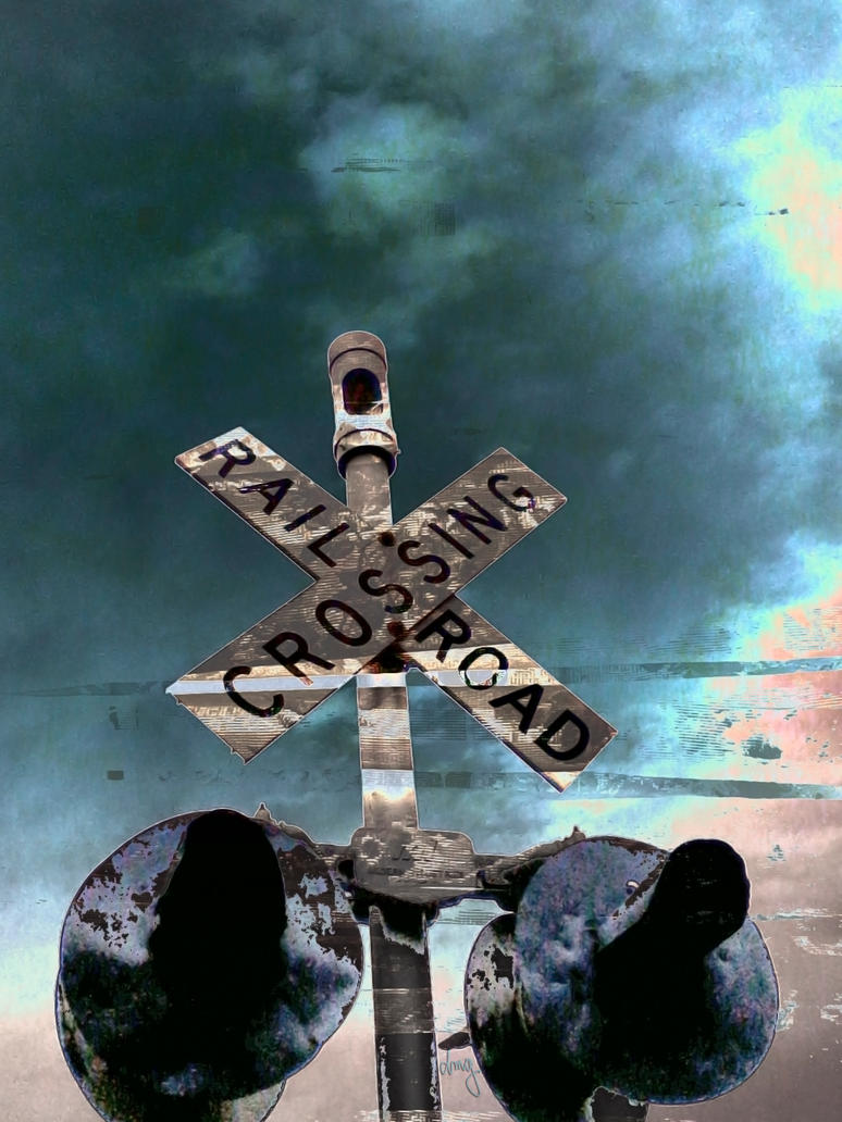 Railroad Crossing by DonnaMarie113