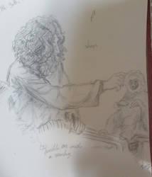 Ramble On with A Monkey by Lovelyviletlil2
