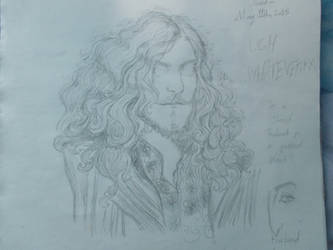 His Hair Ish Pouffy by Lovelyviletlil2