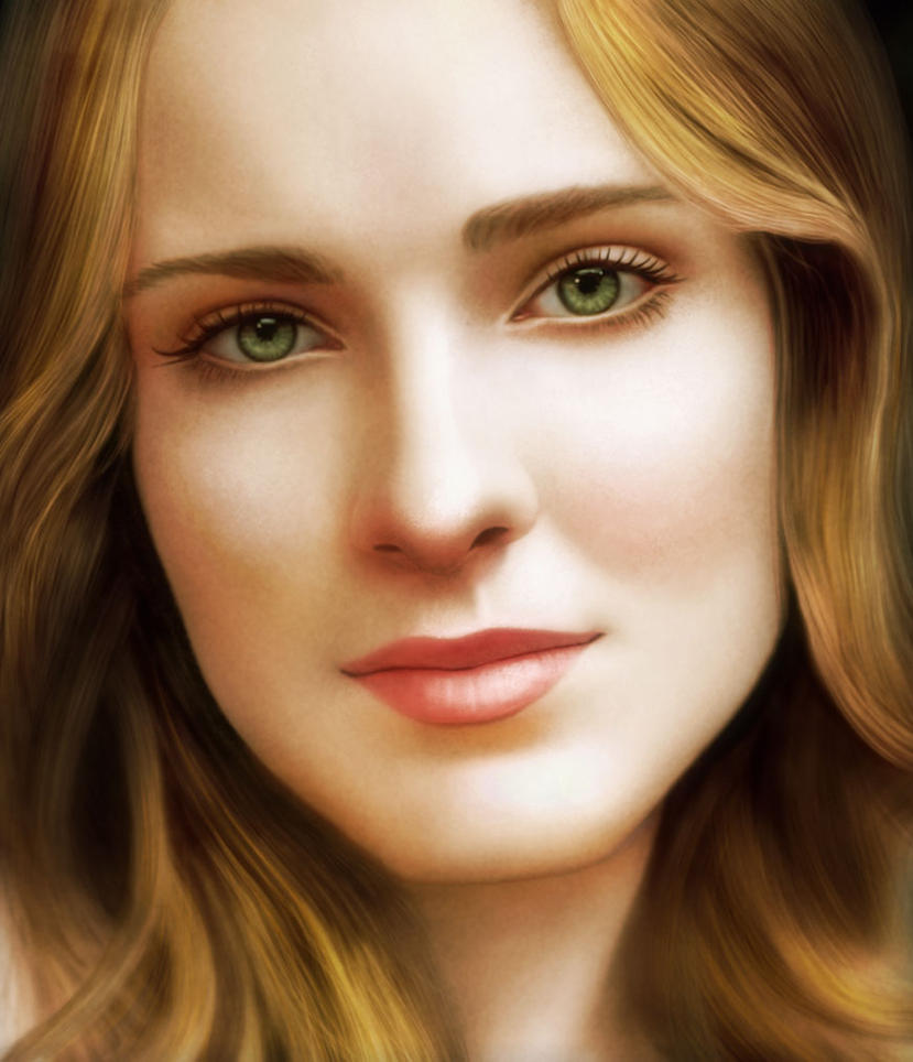 Evan Rachel Wood by RED-ADAM