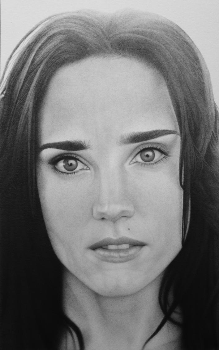 Jennifer Connelly by RED-ADAM