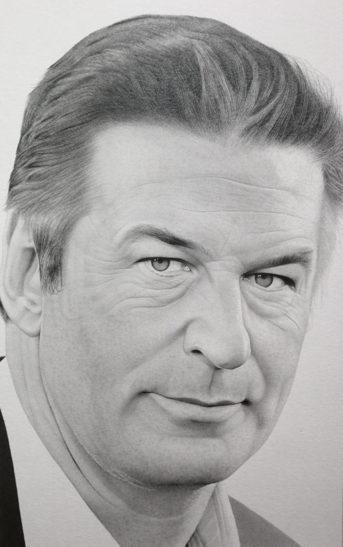 Alec Baldwin by RED-ADAM
