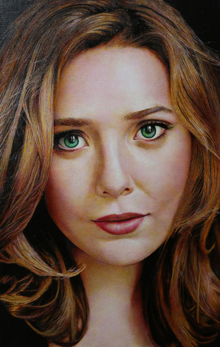 Elizabeth Olsen by RED-ADAM