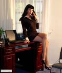 Sexy Secretary Mary Jane Green