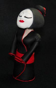 Bobble Headed Geisha Doll v2.0