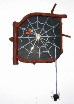 Black Spider's Haven -Clock
