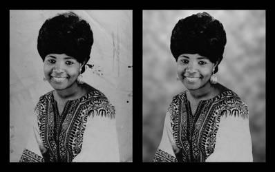 Black and White Photo restoration