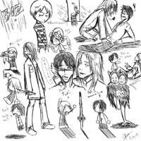 SH4 Walter Sullivan Sketches by CKtheRat