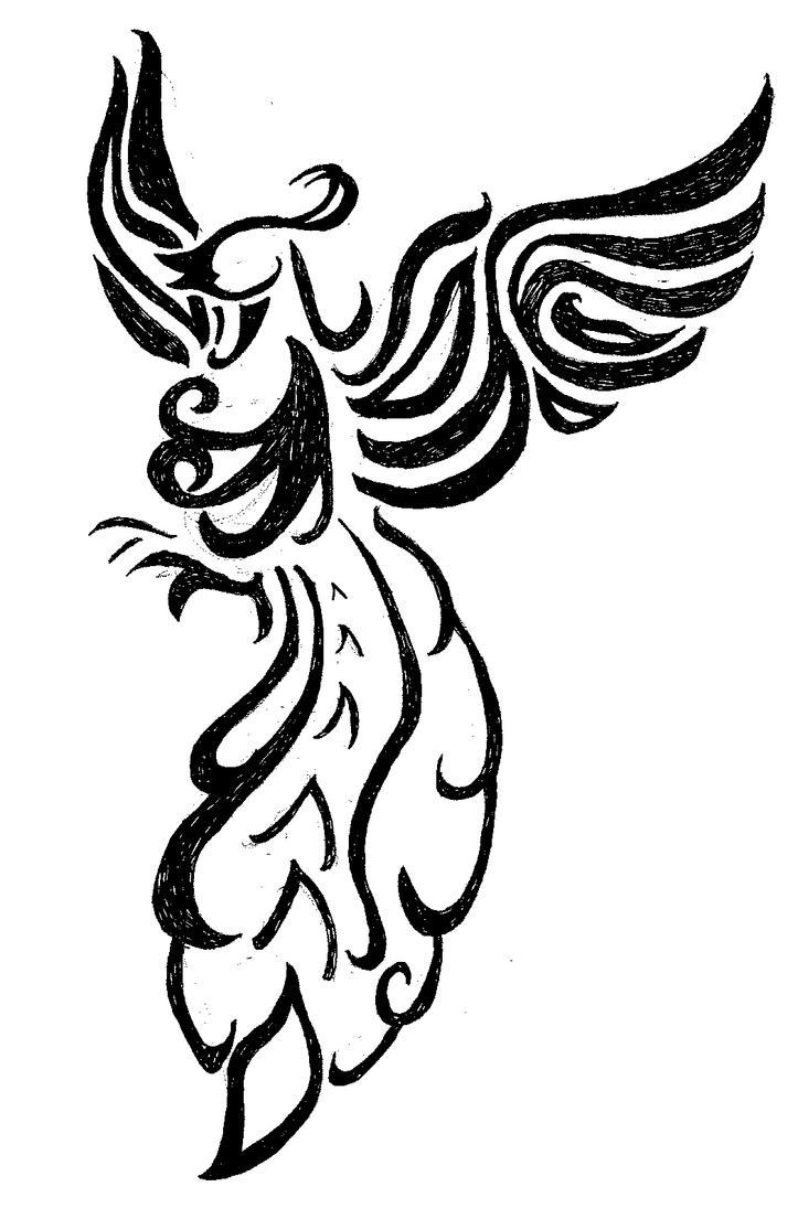 Phoenix tattoo by quietcougar
