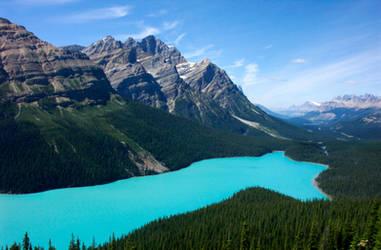 Peyto Lake in Canadian Rockies by BeachGirlNikita