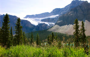 Crowfoot Glacier Canada by BeachGirlNikita
