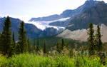 Crowfoot Glacier Canada