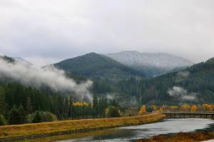 Fall and Winter and Mist by BeachGirlNikita